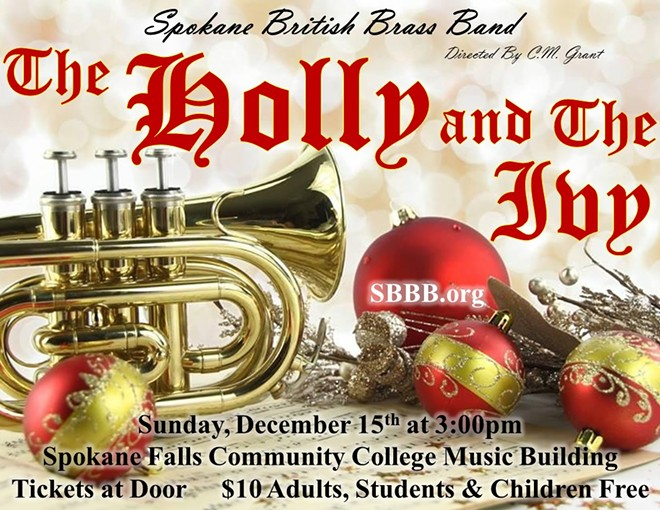 Spokane British Brass Band Presents: The Holly and the Ivy