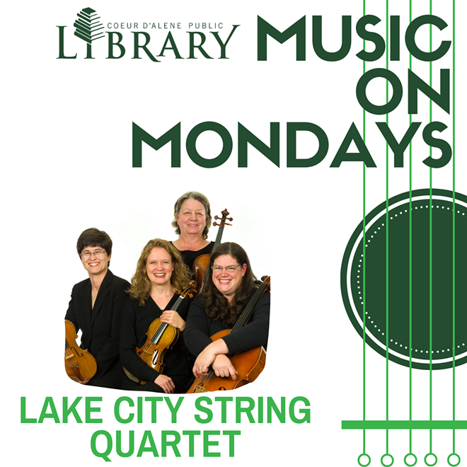 Music On Monday #3 - Lake City String Quartet