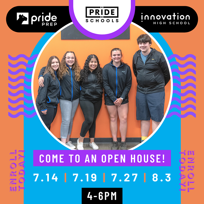 Visit an Open House night at PRIDE Schools!