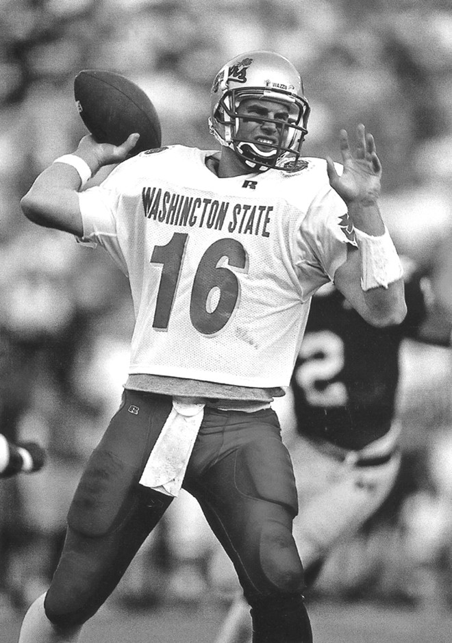 The comeback kid, Ryan Leaf - WSU ATHLETICS PHOTO