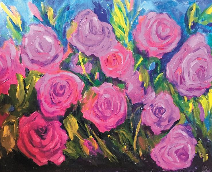 A piece from Belle Fleur by Elizabeth Scott at Avenue West.