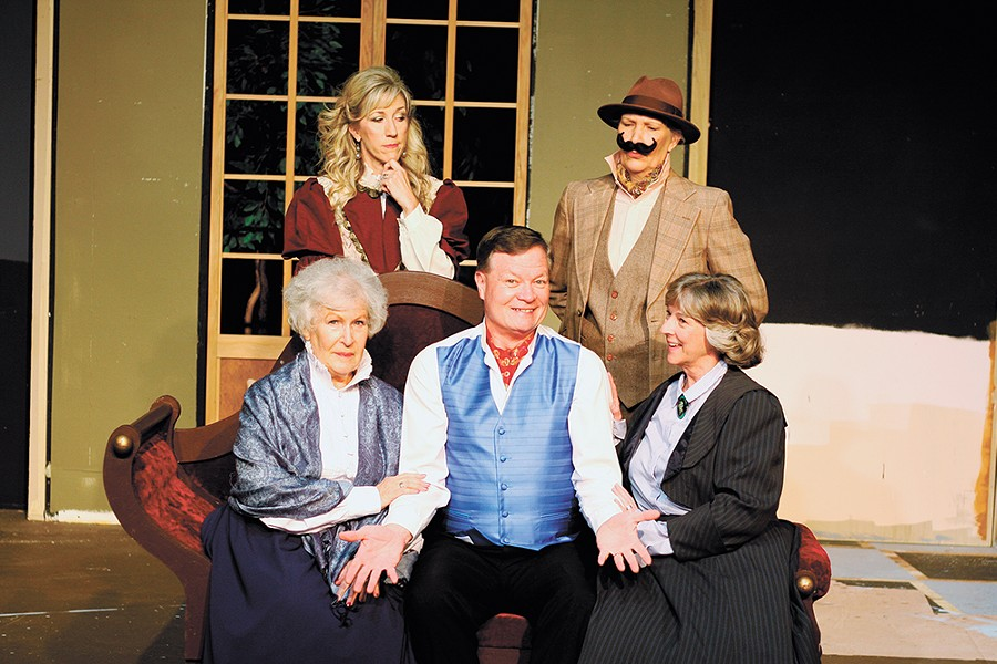 Ignite! Community Theatre tackles a seldom-seen Mark Twain gem with Is He Dead? - KELSEY SHAE PHOTO