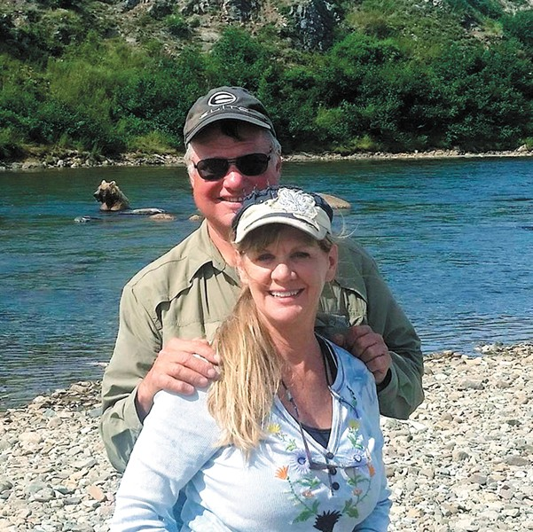 Larry and Lori Isenberg in a photo posted to Larry's Facebook in 2015.