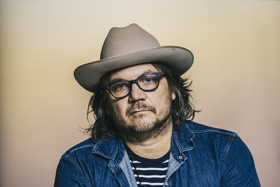 Jeff Tweedy, frontman of Wilco, headlines a solo show at the Bing Sept. 26.