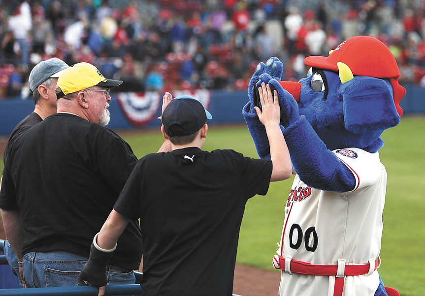 Consider one of the Spokane Indians' theme nights.