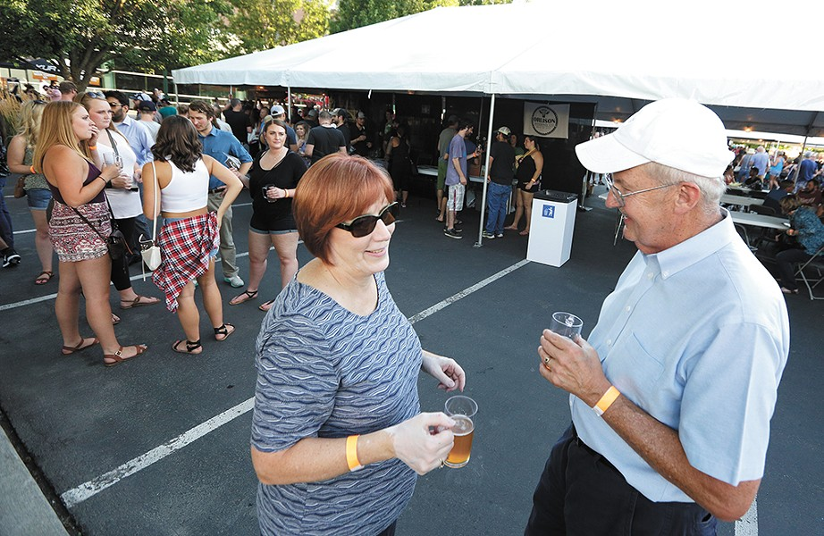 This year, the Spokane Brewers Festival is heading indoors, hosting all the beer, food and music on the Spokane Arena floor.
