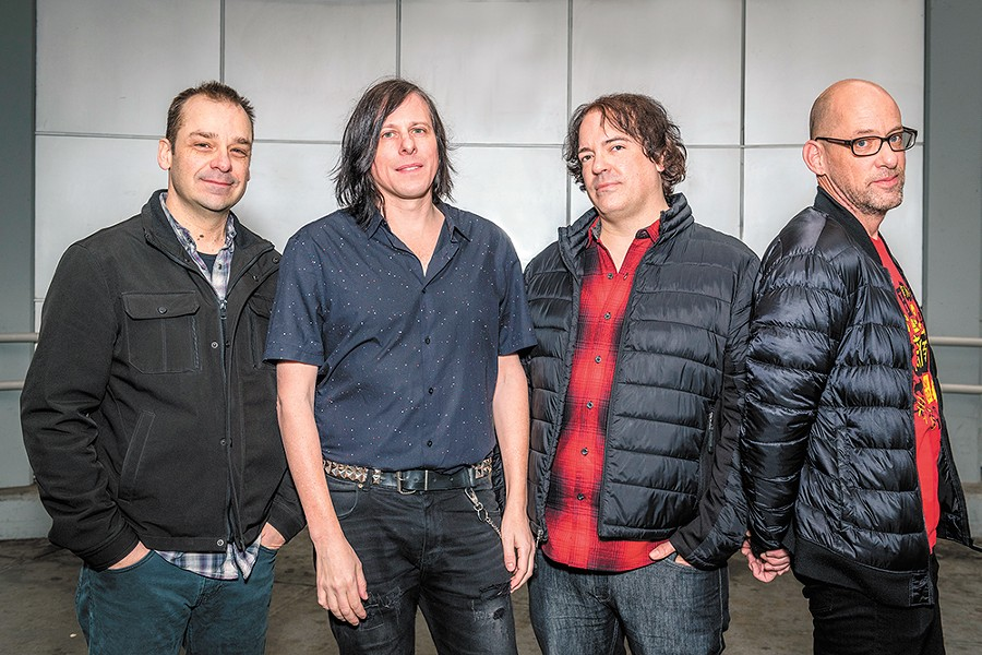 The Posies, formed in Bellingham in the late 1980s, produce the kind of effortless ear candy you'll be humming for a long time. - ALAN LAWRENCE PHOTO