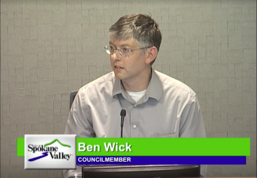 Ben Wick was caught off guard when Mayor Rod Higgins proposed kicking Wick off the SRTC board.
