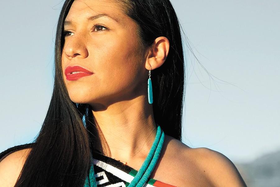Juanita Toledo, Pueblo of Jemez, New Mexico - MATIKA WILBUR, PROJECT 562