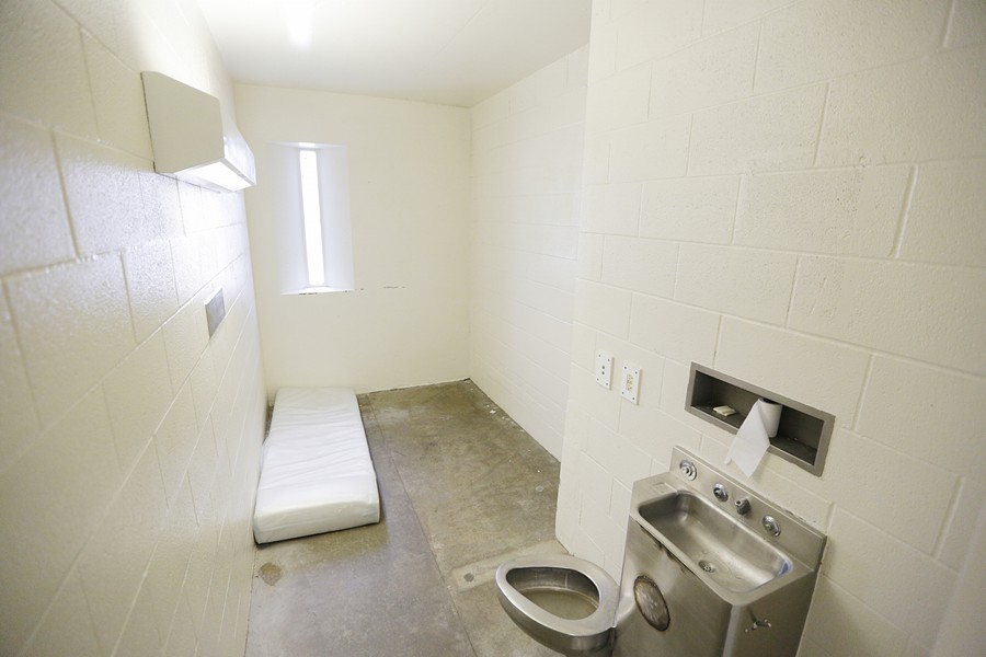 Inside a Spokane County Jail cell - YOUNG KWAK PHOTO