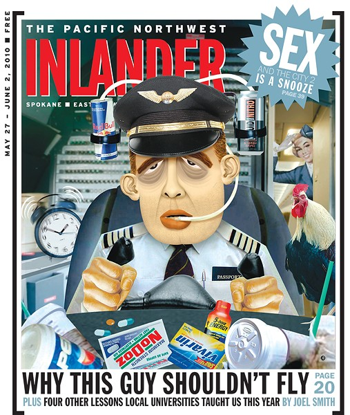 The May 27, 2010, issue; cover illustration by Jeff Drew