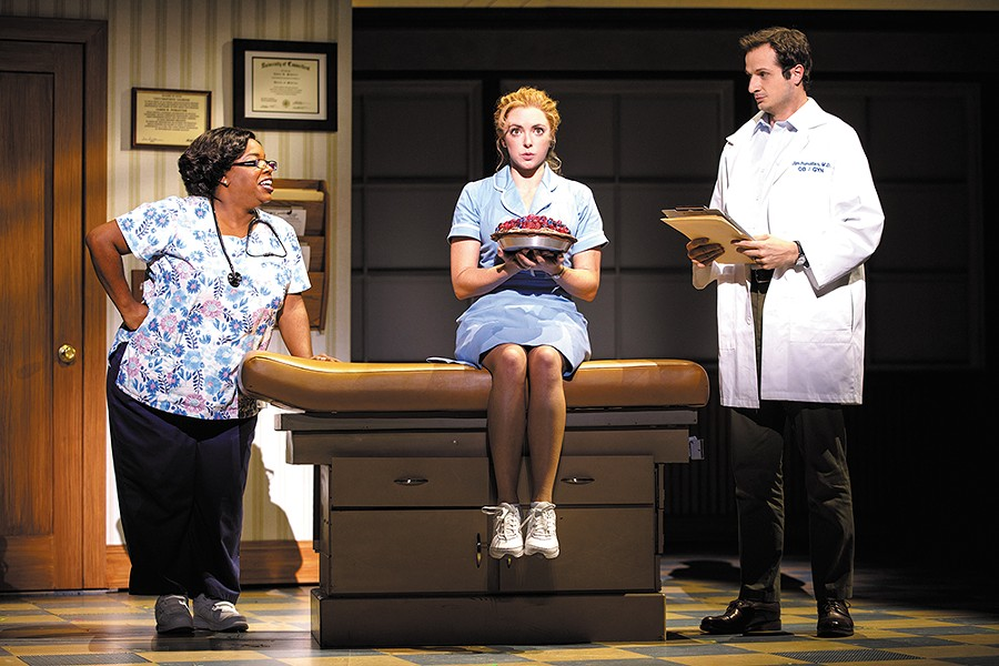 The Tony-nominated Waitress plays in Spokane Dec. 12-16.|Joan Marcus photo
