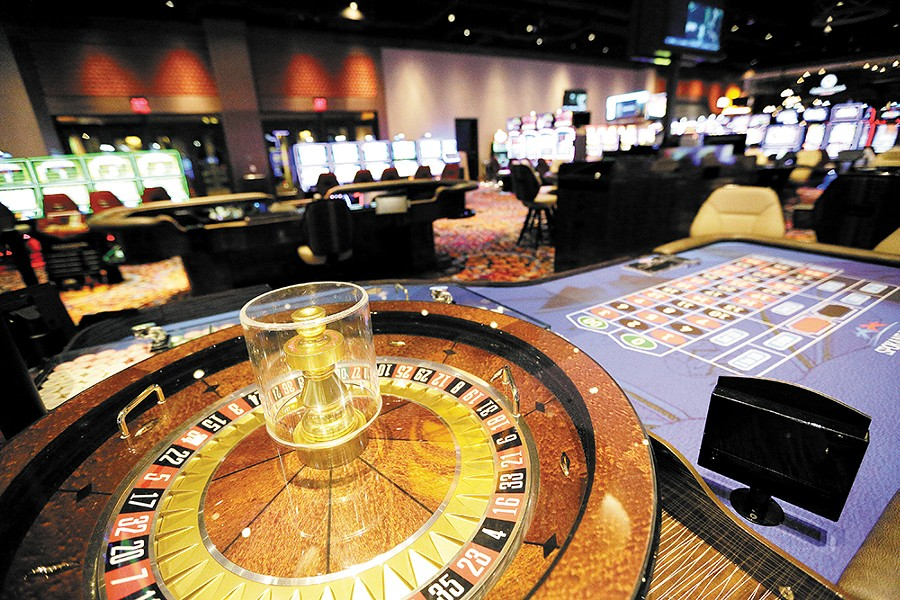 Roulette and other table games await at the Spokane Tribe Casino. - YOUNG KWAK