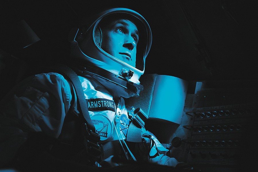 Still handsome in an space suit.