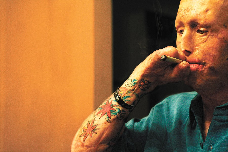 A cover story on Dec. 4, 2008, examined the state of medical marijuana and included details of David Van Scyoc's experience with it. - CHRIS BOVEY PHOTO