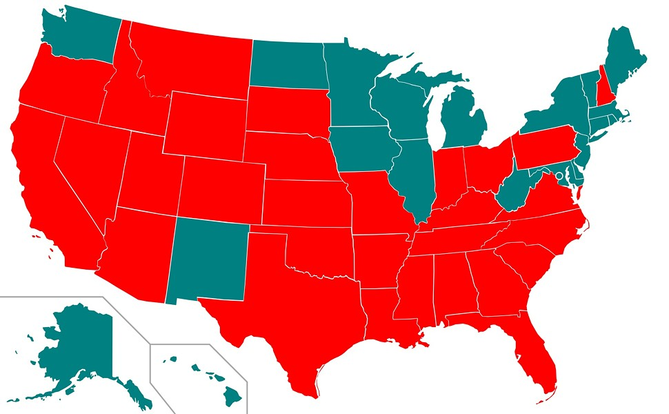 Washington joins 19 other states that have ended capital punishment. - WIKIMEDIA COMMONS/JAYCOOP