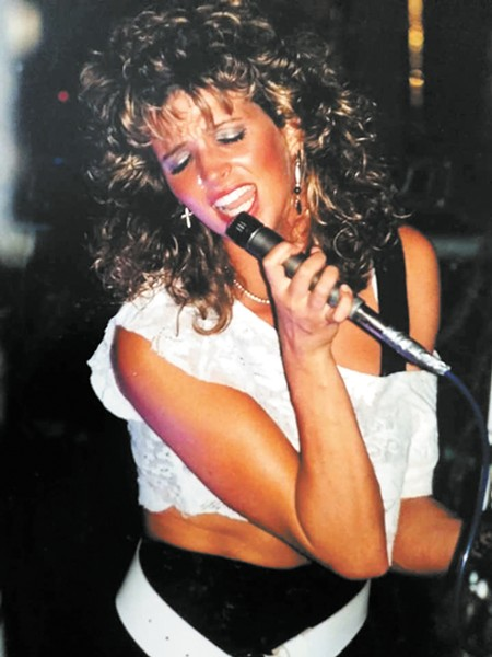 All Fall Down vocalist Tracy Kendrick performs during the Spokane cover band's heyday.