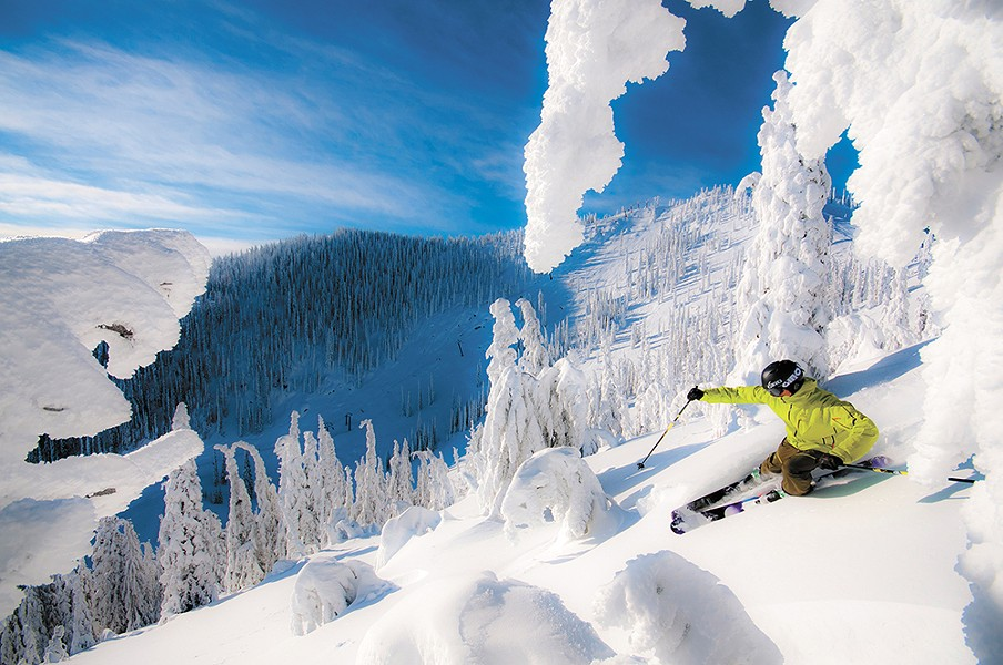 "Red Mountain is a must-ride stop along B.C.'s famed ""Powder Highway."" - FRANCOIS MARSEILLE/RED MOUNTAIN RESORT PHOTO"