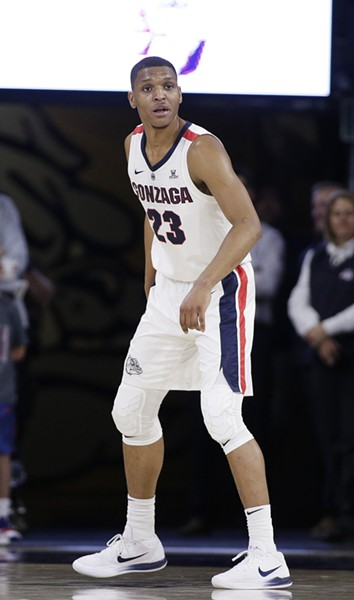 Gonzaga guard Zach Norvell Jr. - YOUNG KWAK