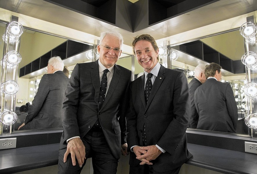 Steve Martin and Martin Short bring their latest comedy show to Airway Heights on July 21.