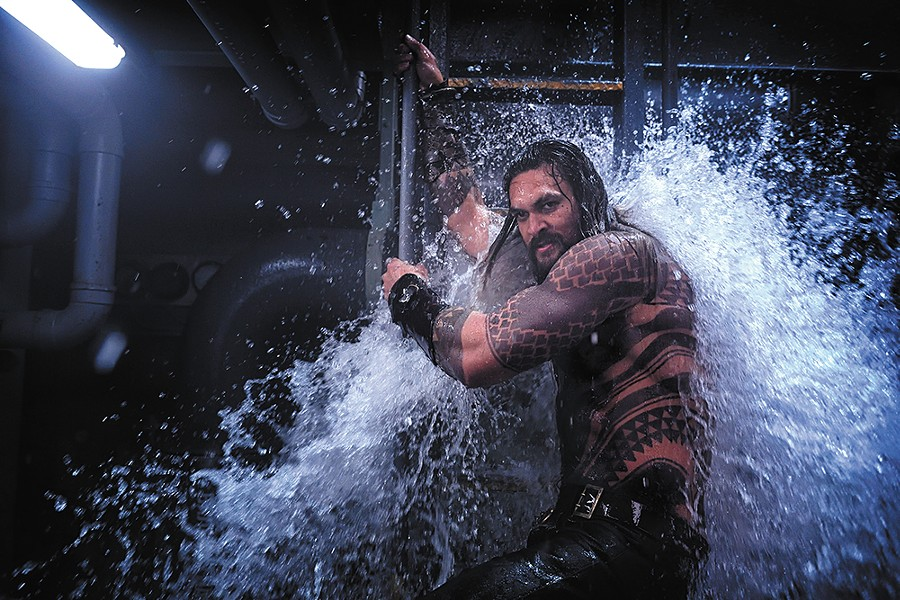 There's a whole lot of stuff going on in Aquaman, but it sadly doesn't add up to much.