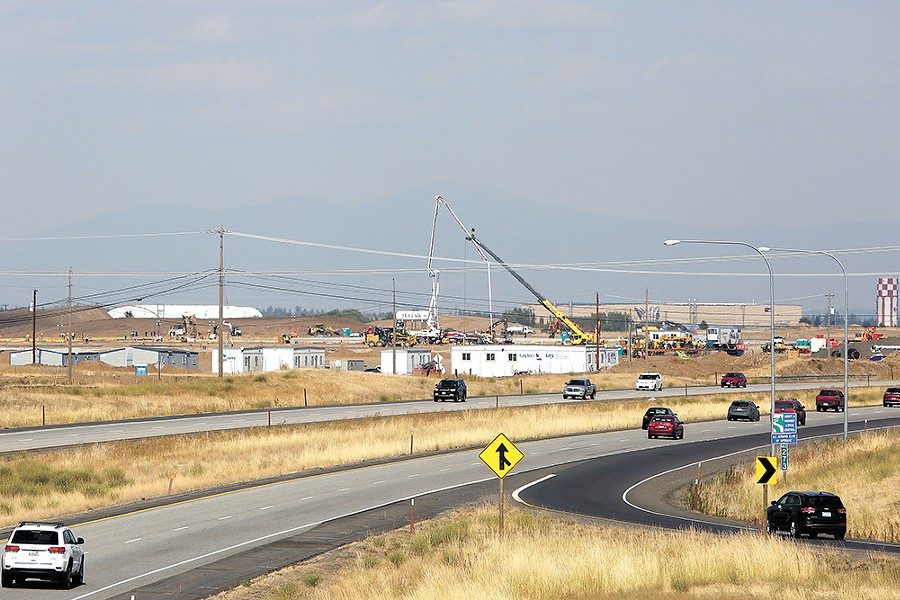 Yep, Amazon breaks ground in the West Plains. - YOUNG KWAK
