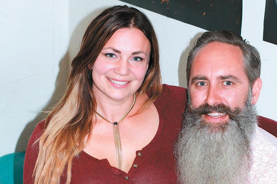 Pastease partners Stephanie La Fleur and Todd Prather. - CARRIE SCOZZARO PHOTO