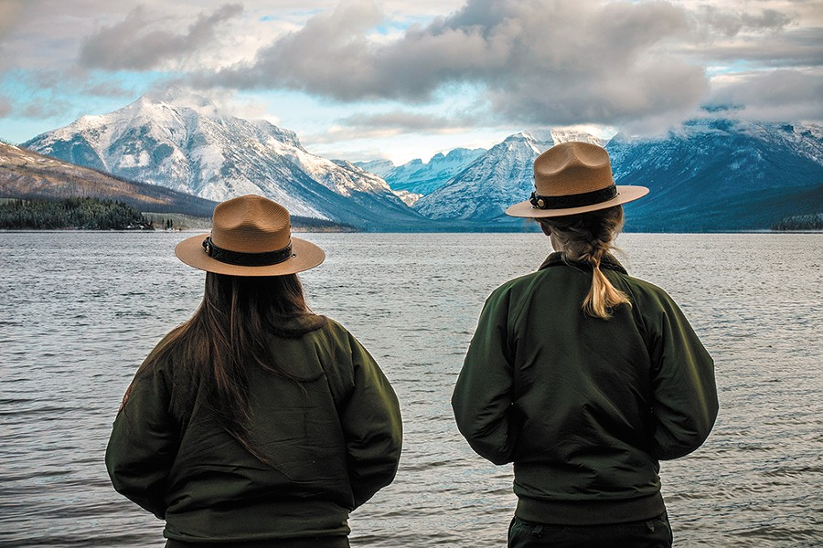 So far, Glacier National Park has escaped the worst of the partial government shutdown. - NATIONAL PARK SERVICES PHOTO