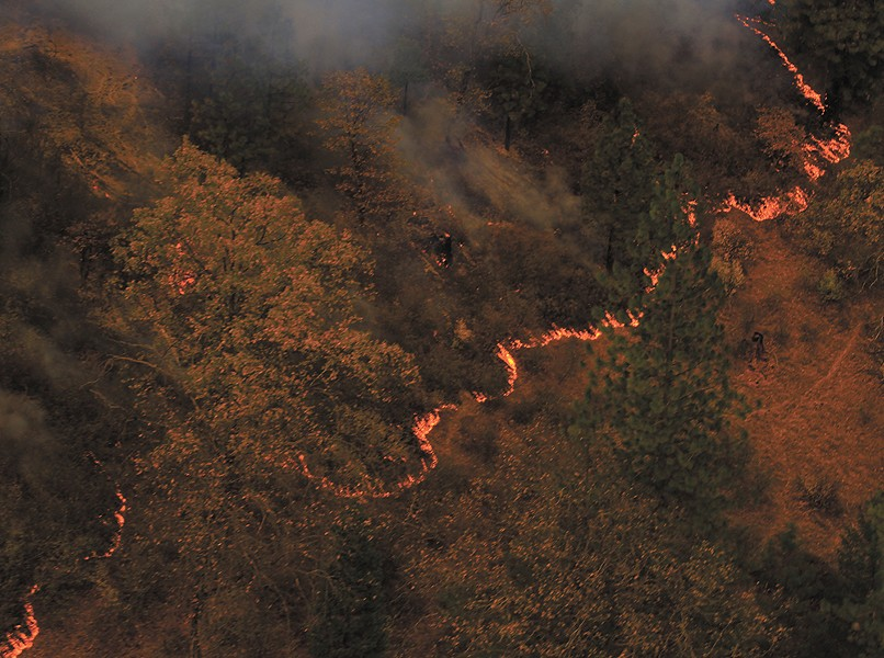 This fall's Camp Fire was the deadliest and most destructive wildfire in California's history, with more than 85 people killed and 14,000 residences destroyed. - U.S. NATIONAL GUARD PHOTO PHOTO