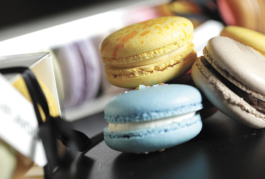 Find MiFlavour's signature macarons at its new Spokane Valley headquarters. - YOUNG KWAK