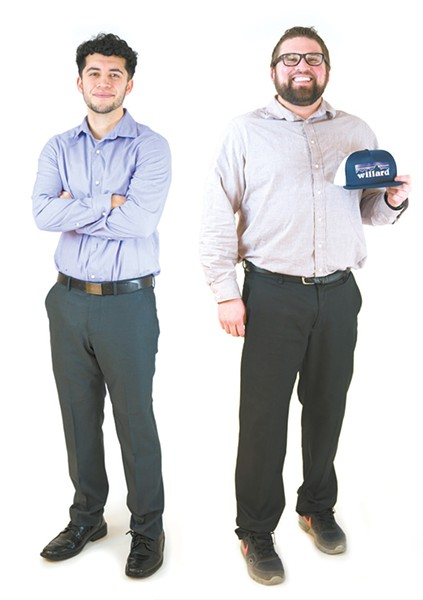 Carlos Garcia (left) and Jared Kuhn - DEREK HARRISON PHOTO
