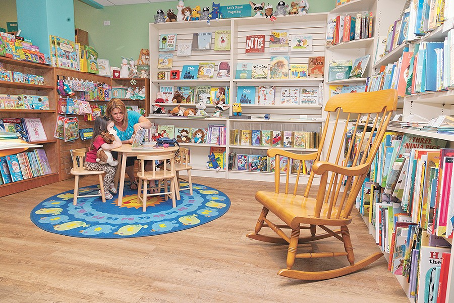 Kids are welcome at the Well-Read Moose, which is marking its fifth anniversary in May. - TIMOTHY PHILLIPS PHOTO