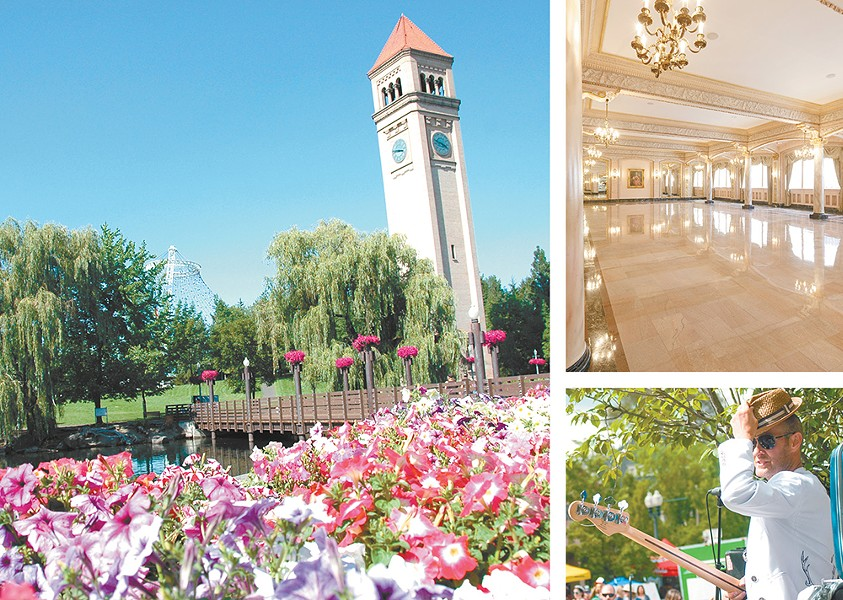 Forget Virginia! The Inland Northwest is for lovers — with dates in Riverfront Park, weddings at the Davenport and music supplied by The Rub.