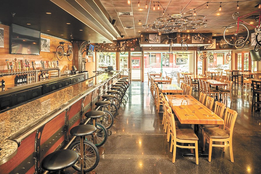 Unchained is a friendly pub with a biking attitude.