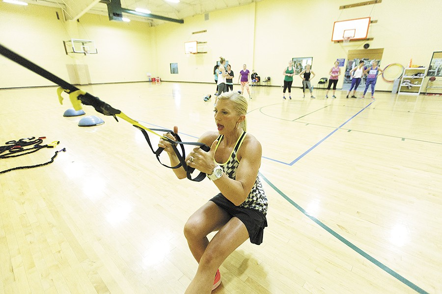 """Fitness Director Aimee Livingston at the Liberty Lake Athletic Club: """"Cross training... is critical."""" - YOUNG KWAK"""