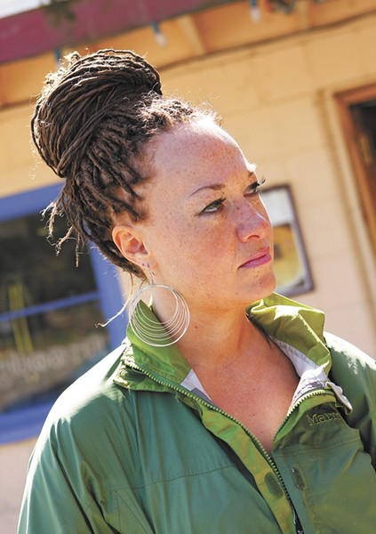 Rachel Dolezal in 2010 - YOUNG KWAK PHOTO