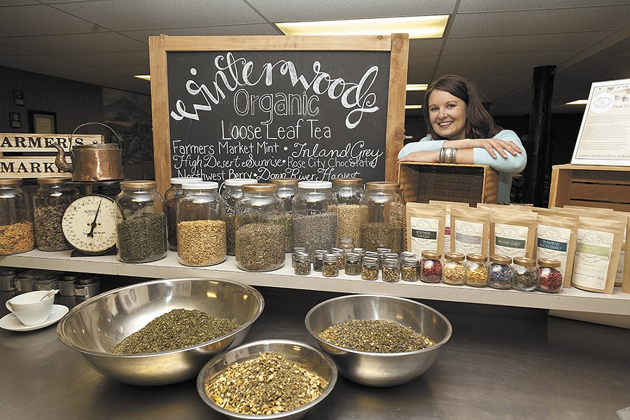Tirza Wibel, owner of Winterwoods Tea Company, hopes to bring an appreciation of the beverage to the region. - TIMOTHY PHILLIPS