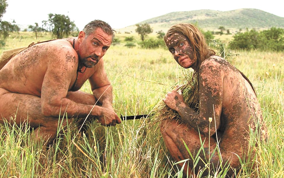 Naked and Afraid : It could save your life.