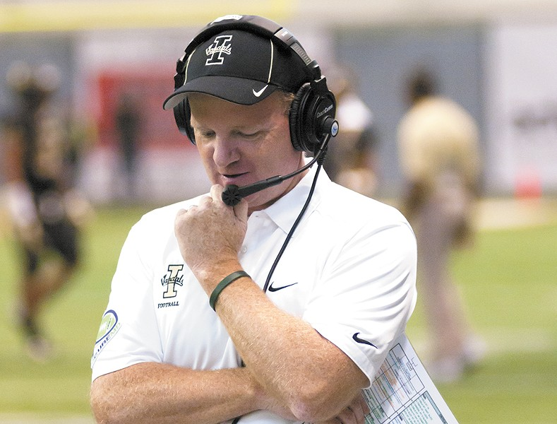 Idaho's head coach Paul Petrino is looking to bring some wins to Moscow.