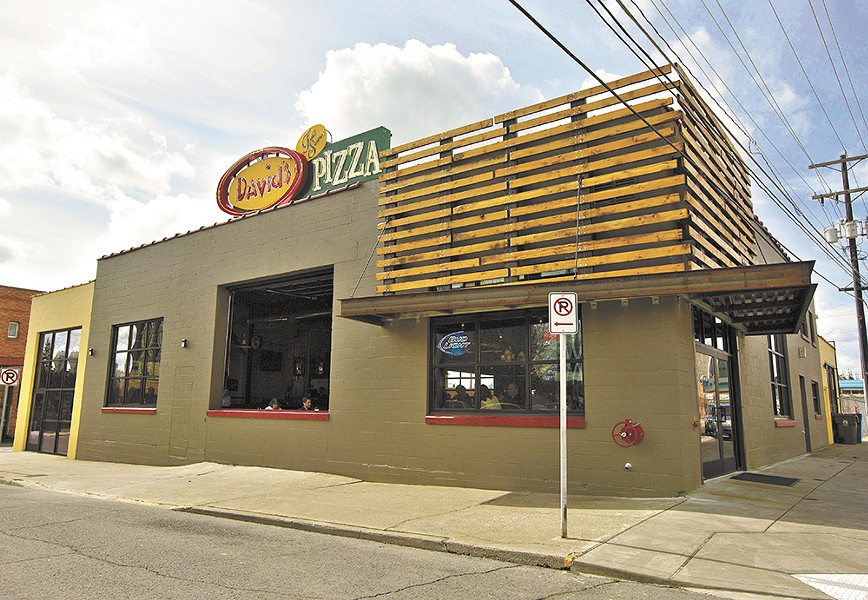 The recently opened David's Pizza is located across from the Spokane Arena. - YOUNG KWAK