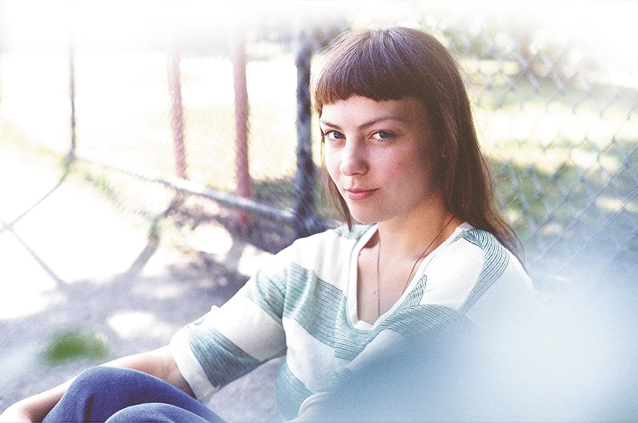 Singer-songwriter Angel Olsen is one of this year's Bartfest headliners.