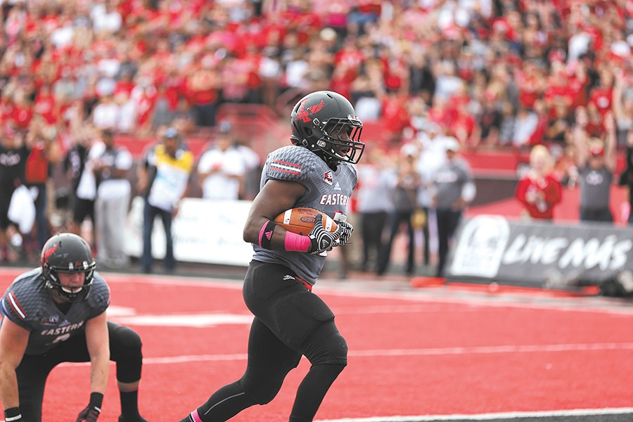 Eastern Washington won a wild overtime thriller in Cheney against Cal Poly. - EWU ATHLETICS
