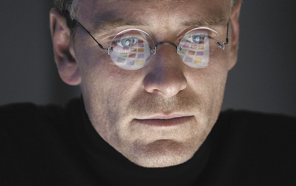 Michael Fassbender plays the mercurial Steve Jobs.