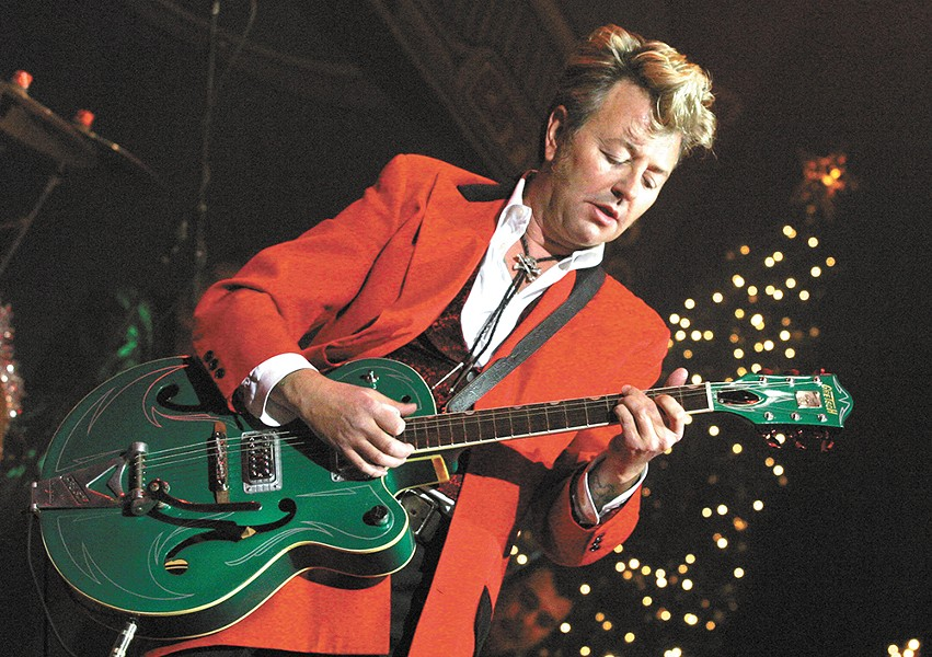 Brian Setzer brings some holiday flair to The Fox on Dec. 26