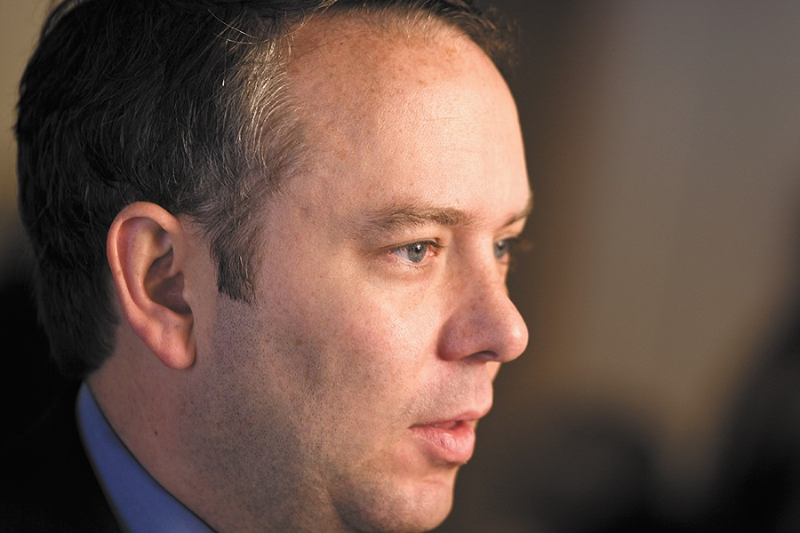 Mayor Condon denies he misled the public about a sexual harassment complaint, saying the accuser had asked to keep it secret. - STEPHEN SCHLANGE PHOTO