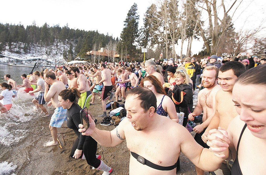 Taking the plunge at Lake Coeur d'Alene - YOUNG KWAK