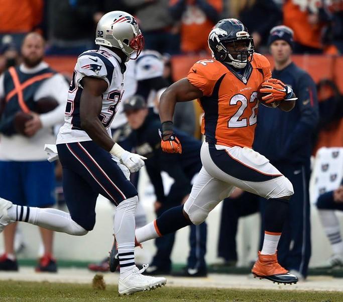 Denver beat New England to advance to the Super Bowl. - DENVER BRONCOS