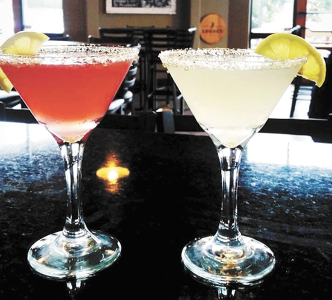 Stir's cocktail menu features a mix of classic and contemporary drinks. - CARRIE SCOZZARO