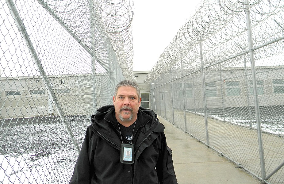 David Hilpert, a counselor at Coyote Ridge Corrections Center, helped to create the Veterans Project, which brings former military men together. - JAKE THOMAS