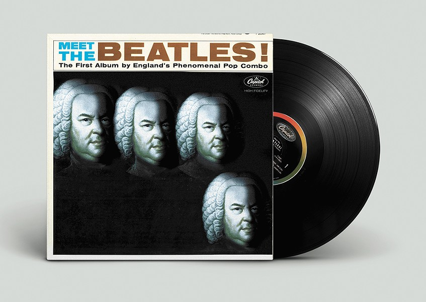 Even the Beatles were inspired by Bach. - ALISSIA BLACKWOOD PHOTO ILLUSTRATION